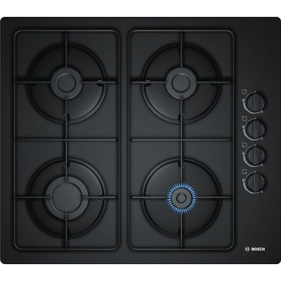 Bosch Serie 2 POP6B6B80 Gas Hob  Black Glass - 4242002834313