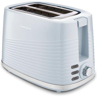 MORPHY RICHARDS Dune 220030 2 Slice Toaster   Blue  Blue - 5011832069061