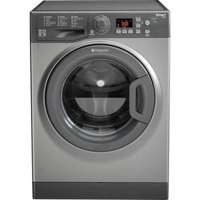 HOTPOINT Smart WMFUG842G Washing Machine - Graphite, Graphite