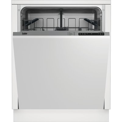 BEKO  DIN15X10 Full size Integrated Dishwasher - 5023790040525