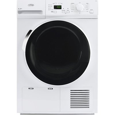 Belling Tumble Dryer BEL FHD800 Heat Pump  - White, White