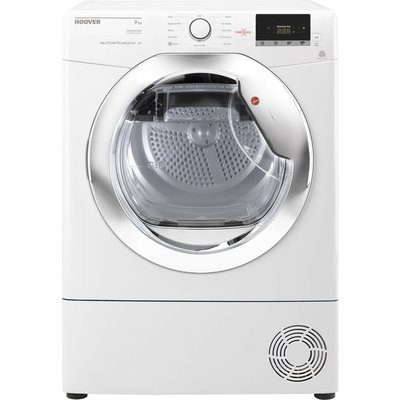 Hoover Tumble Dryer Dynamic Next DX H9A2DCE NFC 9 kg Heat Pump  - White, White