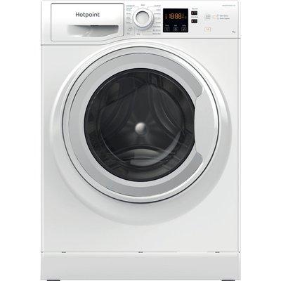 HOTPOINT Coreu0026tradeNSWR 963C WK UK N 9 kg 1600 Spin Washing Machine - White, White