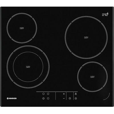 8016361846913 | Hoover HVE642 Four Zone Ceramic Hob Black