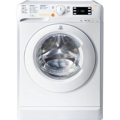 Indesit Washer Dryer XWDE 751480X W 7 kg  - White, White