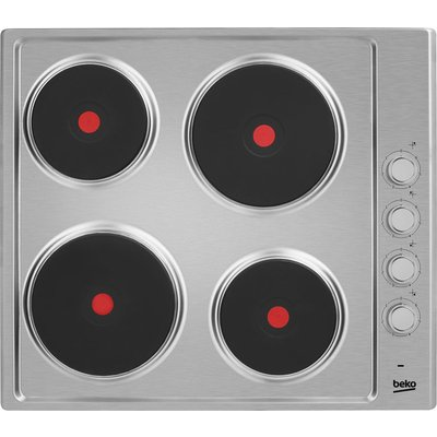 Beko HIZE64101 electric hobs  in Stainless Steel - 5023790022415