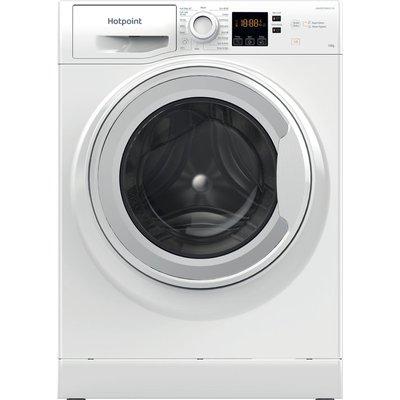 HOTPOINT Coreu0026tradeNSWM 1043C W UK N 10 kg 1400 Spin Washing Machine – White, White