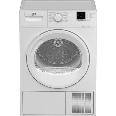 BEKO DTLP81151W 8 kg Heat Pump Tumble Dryer - White, White
