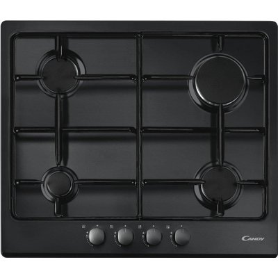 8016361824485 | Candy CPG64SPN 4 Burner Gas Hob   Black