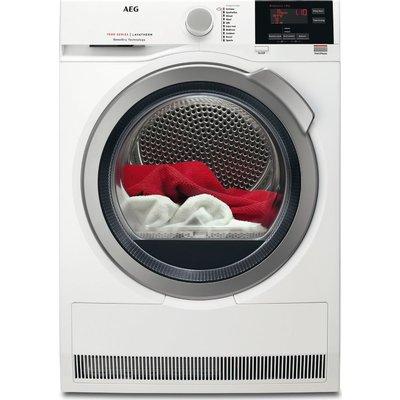 AEG Tumble Dryer  SensiDry T7DBG832R Heat Pump  - White, White