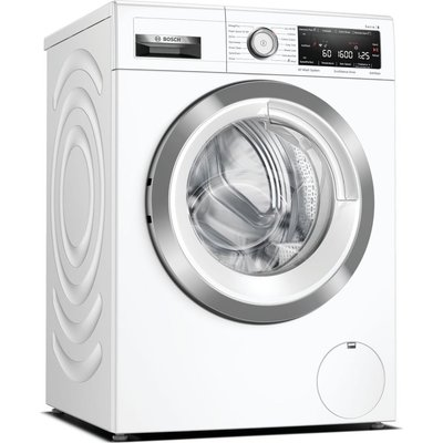 BOSCH Serie 8 WAX32MH9GB WiFi-enabled 9 kg 1600 Spin Washing Machine - White, White