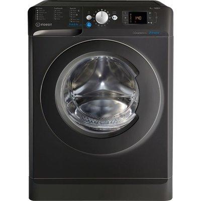 INDESIT Innex BWE 91483X K UK N 9 kg 1400 rpm Washing Machine - Black, Black