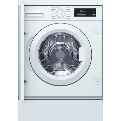 NEFF W543BX0GB Integrated 8 kg 1400 Spin Washing Machine - White, White