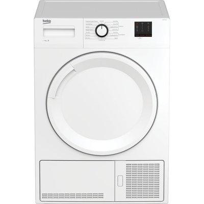 Beko Tumble Dryer DTBC7001W 7 kg Condenser  - White, White