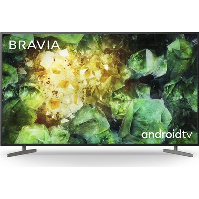 """49"""" SONY BRAVIA KD49XH8196BU  Smart 4K Ultra HD HDR LED TV with Google Assistant, Green"""
