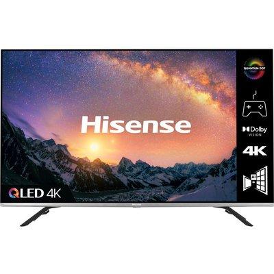"50"" HISENSE 50E76GQTUK  Smart 4K Ultra HD HDR QLED TV with Google Assistant and Amazon Alexa"