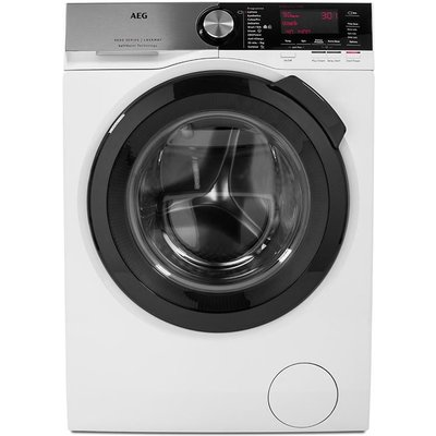 AEG SoftWater L9FSC949R Washing Machine - White, White