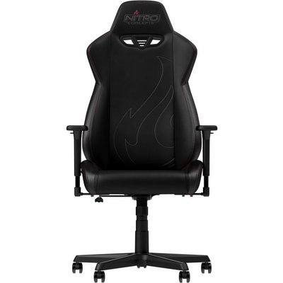 NITRO CONCEPTS S300 EX Gaming Chair - Carbon Black, Black