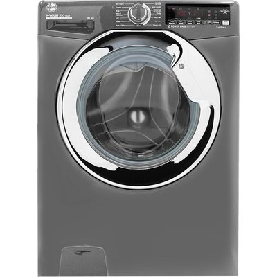 HOOVER H-Wash 300 H3WS610TAMCGE NFC 10 kg 1600 Spin Washing Machine – Graphite, Graphite