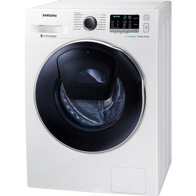 Samsung Washer Dryer ecobubble WD90K5B10OW 9 kg  - White, White