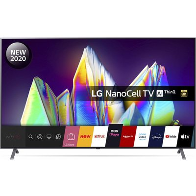 "75"" LG 75NANO996NA  Smart 8K Ultra HD HDR LED TV with Google Assistant & Amazon Alexa"