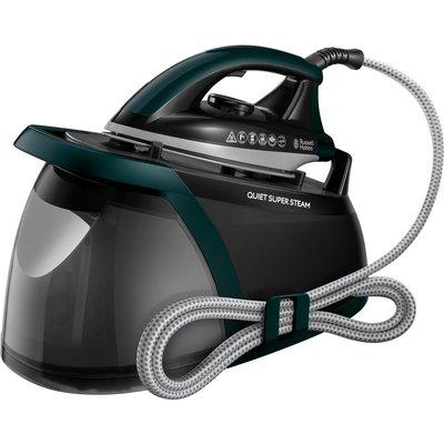 RUSSELL HOBBS Quiet Super 24450 Steam Generator Iron   Green   Black  Green - 5038061109283