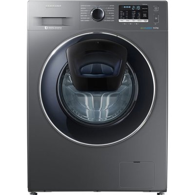 SAMSUNG AddWash WW80K5410UX Washing Machine - Graphite, Graphite