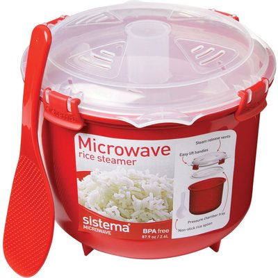 19414202011104 | SISTEMA  Round 2 6 litre Rice Steamer