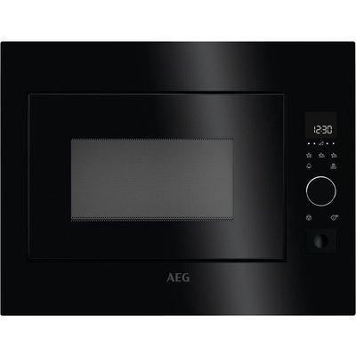 AEG MBE2658S B Built in Solo Microwave   Black  Black - 7332543497072