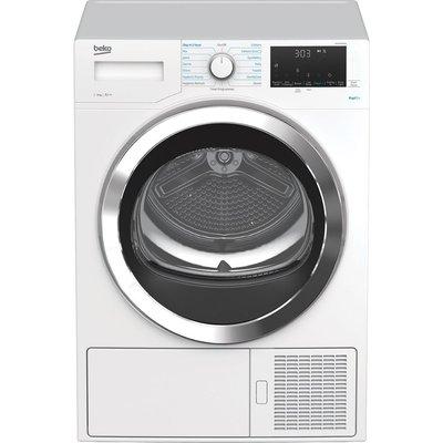BEKO DPHX90460W 9 kg Heat Pump Tumble Dryer - White, White