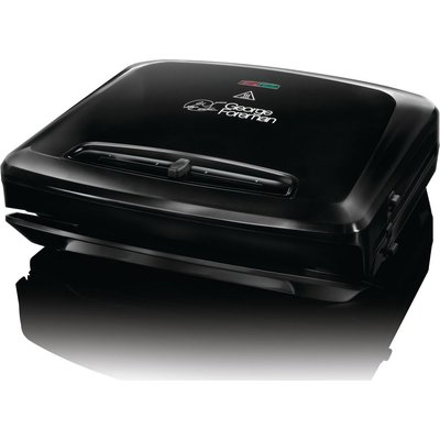 GEORGE FOREMAN 24340 Entertaining Grill   Black  Black - 4008496752898