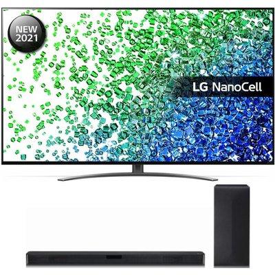 "65"" LG 65NANO816PA  Smart 4K Ultra HD HDR LED TV & Wireless Sound Bar Bundle"