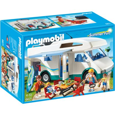 Playmobil Summer Fun Camper 6671