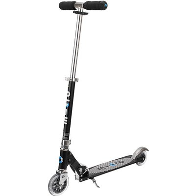 Micro Scooter Sprite Black Stripe Metal Scooter