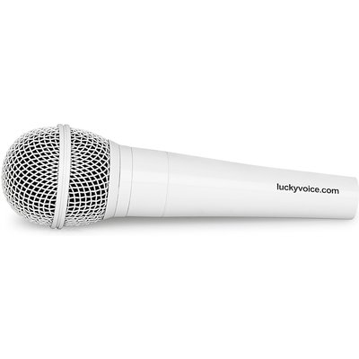 Lucky Voice Spare White Microphone