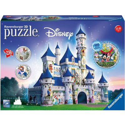 Ravensburger Disney Castle 216 Piece 3D Puzzle