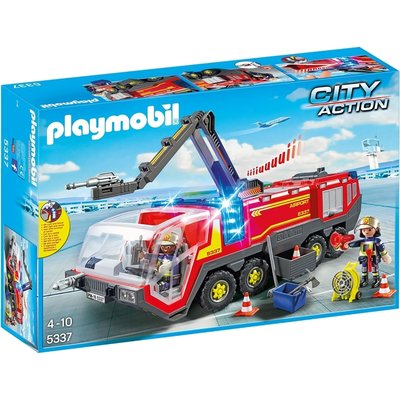 Playmobil Airport Fire Engine with Lights & Sound 5337