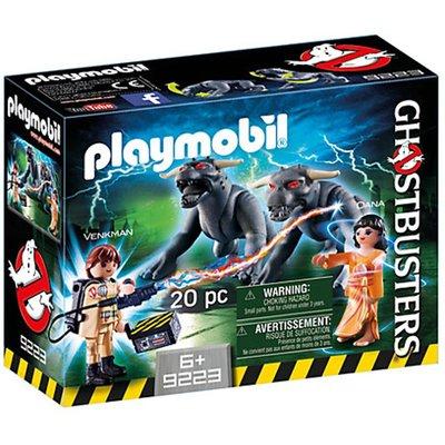 Playmobil Ghostbusters Venkman & Terror Dogs 9223