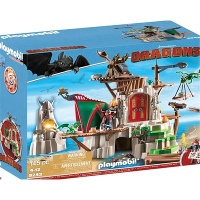Playmobil Dreamworks Dragons Berk Fortress 9243