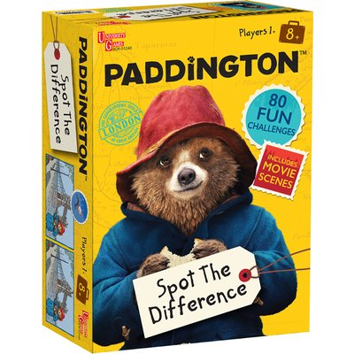 Paddington Bear Spot The Difference Game