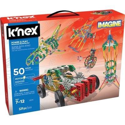 K'NEX Imagine Power & Play Motorised Building Set