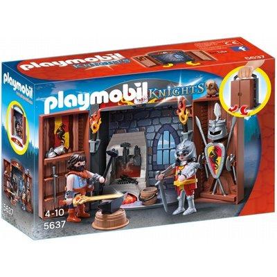 Playmobil Knights Armoury Play Box 5637