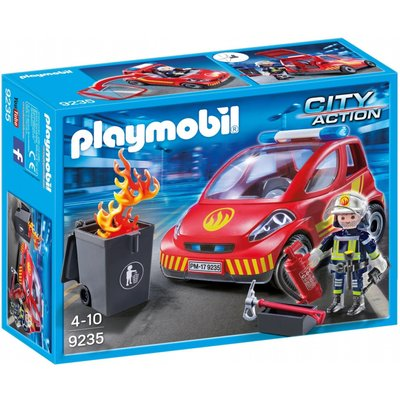 Playmobil City Action Firefighter With Car 9235