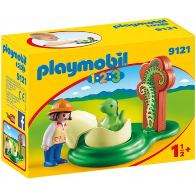 Playmobil 123 Girl With Dino Egg 9121