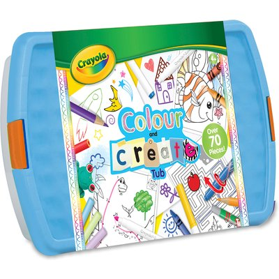 Crayola Colour & Create Tub