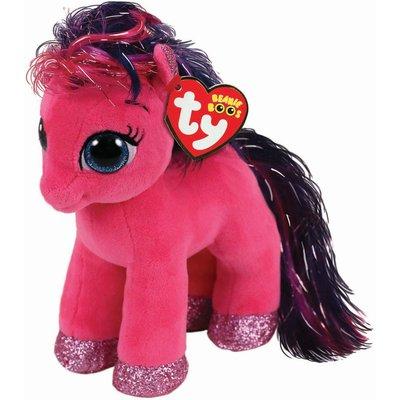 TY Ruby Pink Pony Beanie Boo