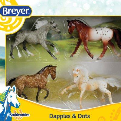 Breyer Dapples & Dots 4 Horses
