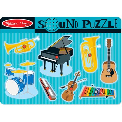 Melissa & Doug Sound Puzzle - Musical Instruments