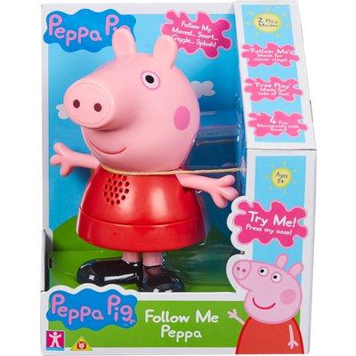Peppa Pig Follow Me Peppa Soft Toy
