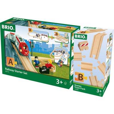 BRIO World Railway Starter Set